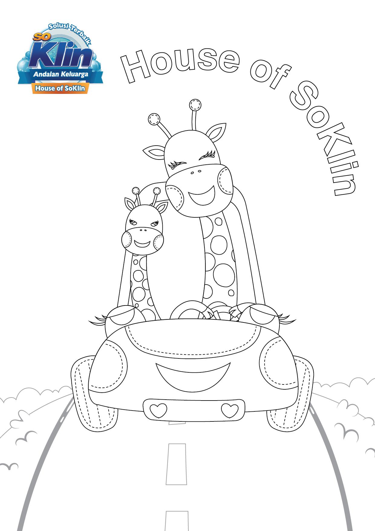 Ayo kembangkan kreativitas kemampuan motorik dan konsentrasi anak dan ikut sertakan anak bunda pada lomba mewarnai House of SoKlin for Kids